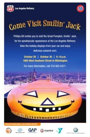 Halloween near the LA Harbor