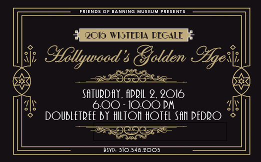 Wisteria Regale – Hollywood the Golden Age